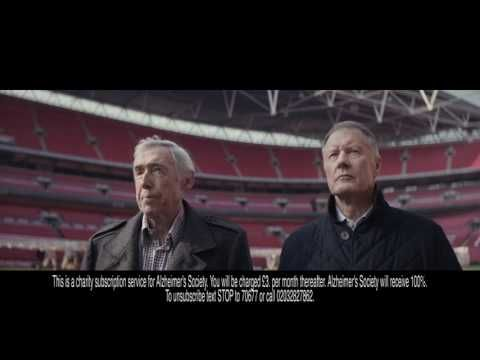 Alzheimer's Society: United Against Dementia (Sir Geoff Hurst and Gordon Banks OBE) - adsofbrands.com