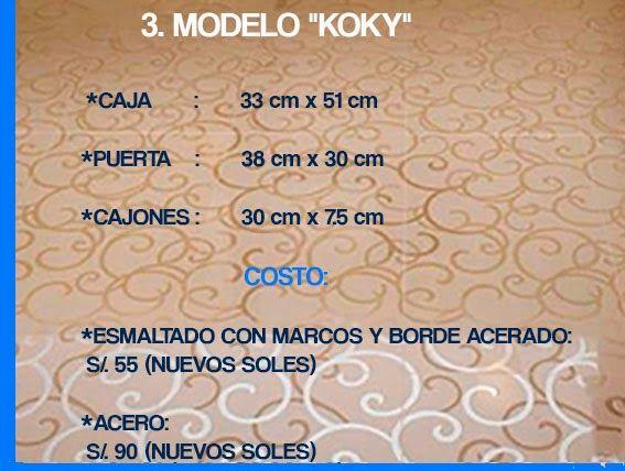 """GABINETE PARA BAÑO  3. MODELO """"KOKY"""""""
