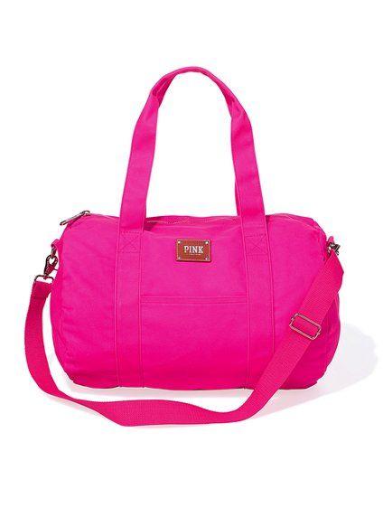 Mini Duffle Bag - Victoria's Secret Pink® - Victoria's Secret: Aggievspink Pinkrep