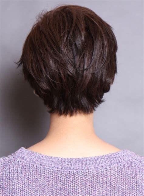 kurze Frisuren – Bildergebnis für Vorderansicht Rückansicht Frauen kurze Frisur