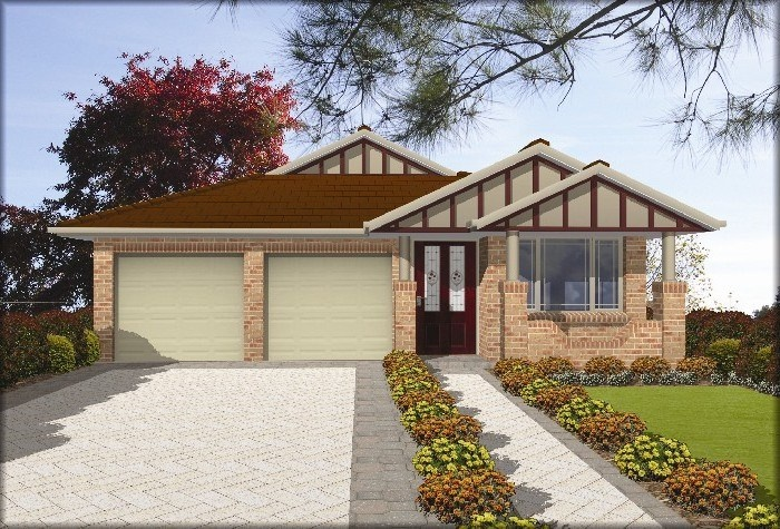 Masterton home designs urban bungalow lhs facade visit for Masterton home designs