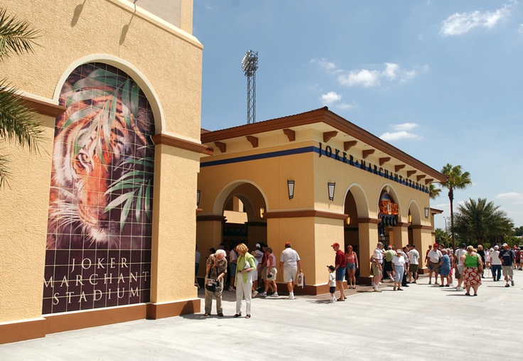 Detroit Tigers Spring Training Facility in Lakeland FL known as TIGER TOWN!