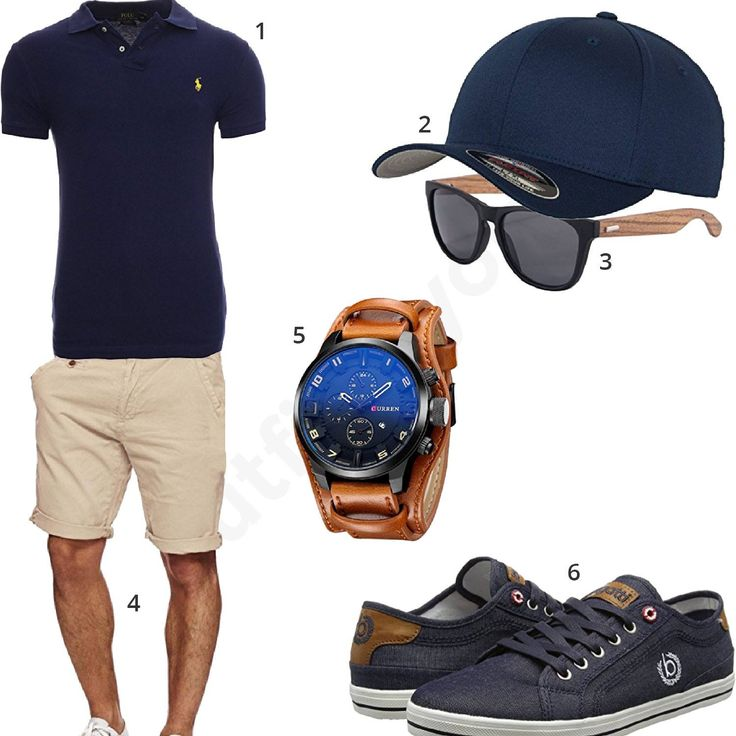 Sommer-Outfit in Dark Navy (m0339
