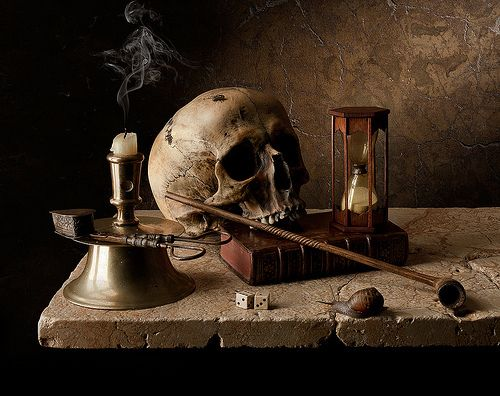 vanitas #stilllife #naturemorte