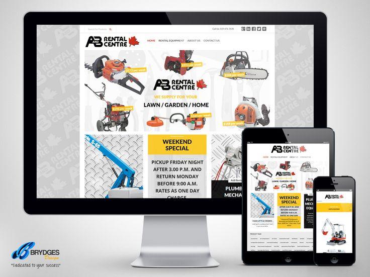 A B Rental Equipment Website www.abrentalcentre.com