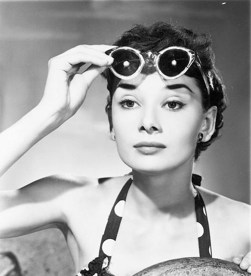 Audrey Hepburn Vintage Cat Eye Sunglasses Vintage