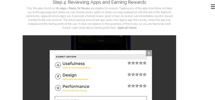 Appkush encourages you to provide a honest review, good or bad. All reviews will immediately result in reward credited to the user account.