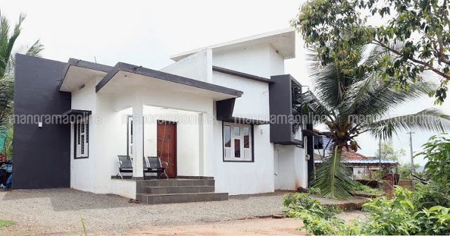 10 Lakhs Budget 2 Bedroom House Plan 10 Lakhs Budget Small Budget Single Floor House In 756 Square Feet Kerala Budget House Plans Kerala Houses House Plans Low budget 2 bedroom house plan