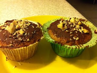 Ager bager: Kanelcupcakes med chokomocca-ganache
