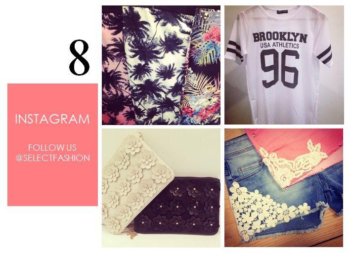 Follow us on Instagram @Select Fashion