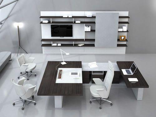 contemporary executive wooden office desk - ALA - ArchiExpo