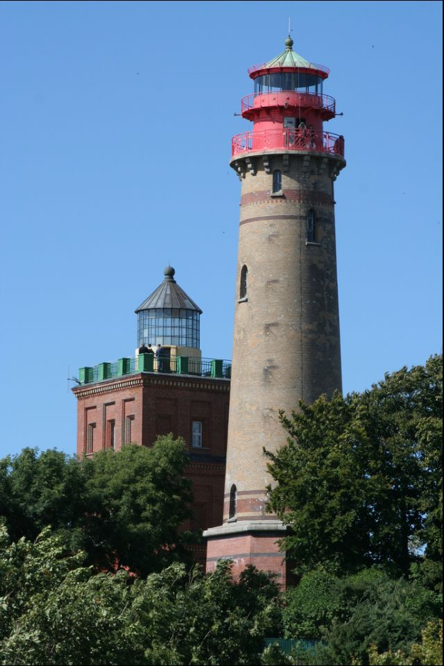 Two Lighthouses in Kap Arkona, Rügen Germany