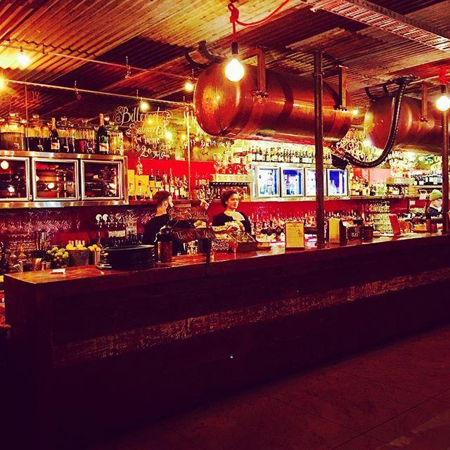 Upstairs bar at #nakedforsatan #brunswickstreet #fitzroy #melbourne