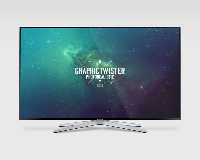 Free Samsung TV Mockup (55.6 MB) | Graphic Twister