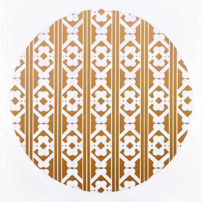 """Fabulous Contemporary Art from New Zealand! Gold Foil Art Print """"Woven Bones"""""""