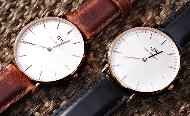 Daniel Wellington horloges. Trendy horloges mede door het 'weglaten'. Wat vinden jullie? Koop jij een Daniel Wellington horloge bij Kish.nl ?