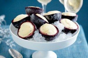 Easy passionfruit ice-cream
