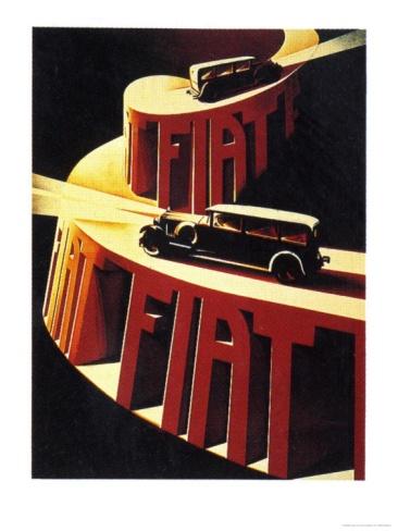 1930's Fiat Ad