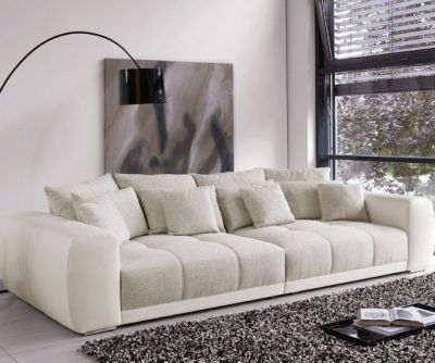 Die besten 25+ Big sofa grau Ideen auf Pinterest Sofas, Beige - landhausstil wohnzimmer grau