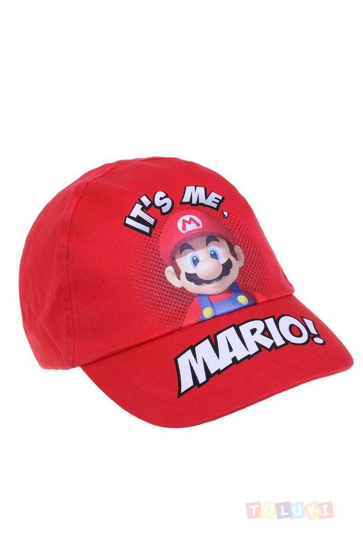 Casquette Mario It's me Mario! Idéale lors des activités périscolaires. https://www.toluki.com/prod.php?id=1095  #Toluki  rentrée scolaire, fourniture et vêtement D'autres modèles sont disponibles dans notre boutique en ligne