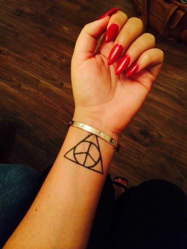 Charlotte Crosby's wrist tattoo