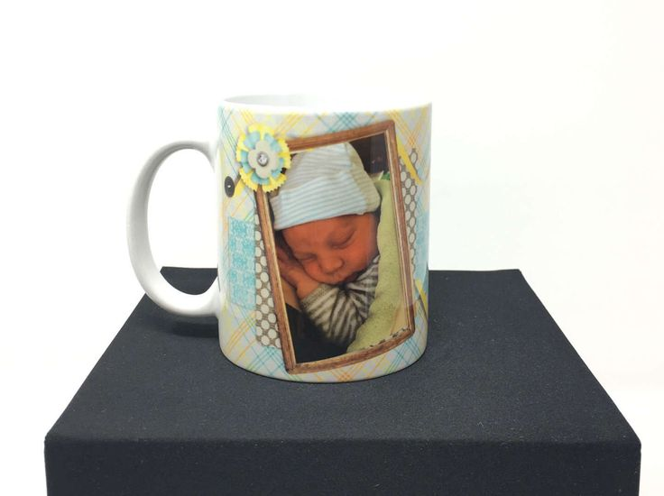 Baby Statistics Mug, Birth Statistic Photo Mug, Photo Mug, New Baby Mug, Personalized Birth Mug, Baby Mug, Grandparents Mug, Godparents Mug by CreativeCraftRooms on Etsy https://www.etsy.com/listing/520303145/baby-statistics-mug-birth-statistic