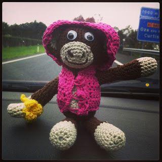 Federico viajero #amigurumi #crochet #ganchillo