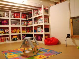 Best 25+ Unfinished Basement Playroom Ideas On Pinterest | Finished Basement  Playroom, Unfinished Basement Bedroom And Unfinished Basement Storage