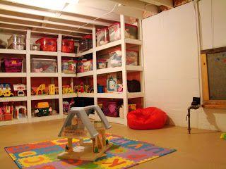 unfinished basements