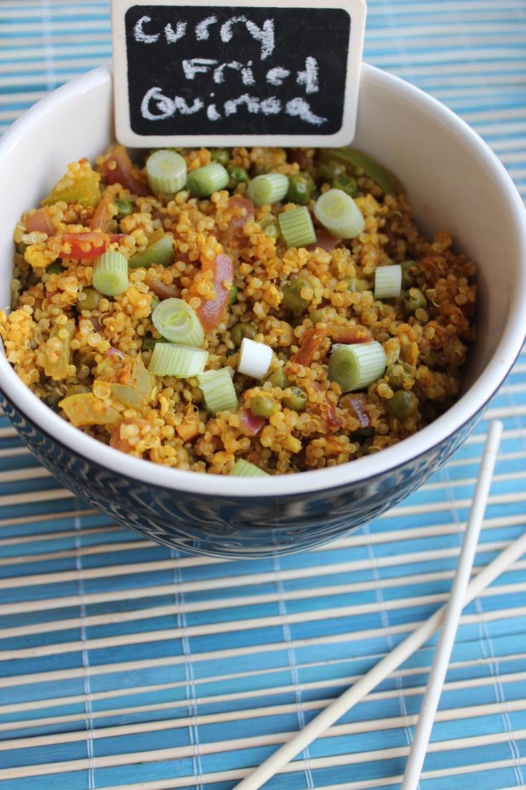 Curry Fried Quinoa « Little Leopard Book Little Leopard Book