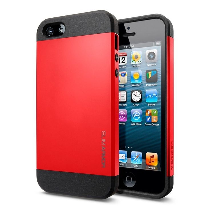 ide-home Store - SPIGEN SGP iPhone 5 Case Slim Armor Color - Crimson Red, $29.95 (http://www.ide-home.com.au/iphone-5/spigen-sgp-iphone-5-case-slim-armor-color-crimson-red/)