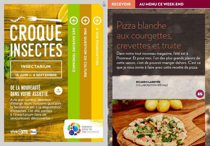 Pizza blanche auxcourgettes, crevettes et truite - La Presse+