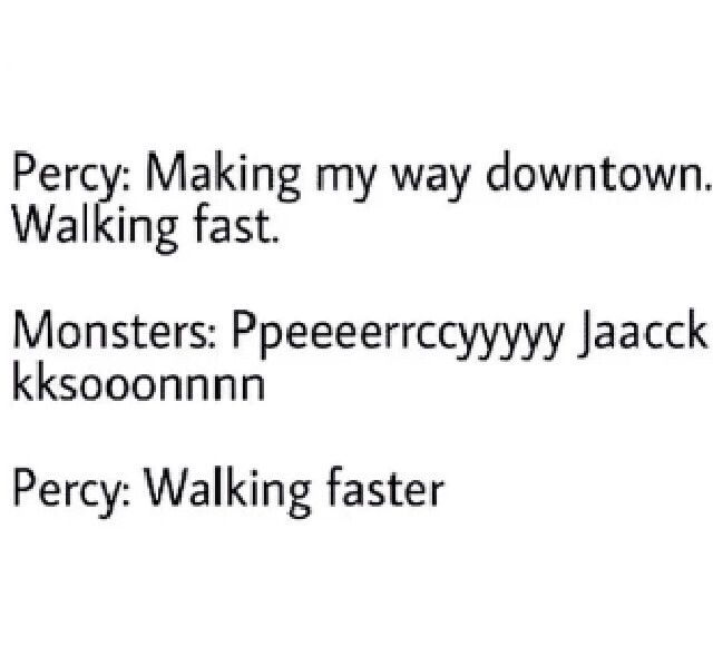 Walking faster. I sang the first part in my head