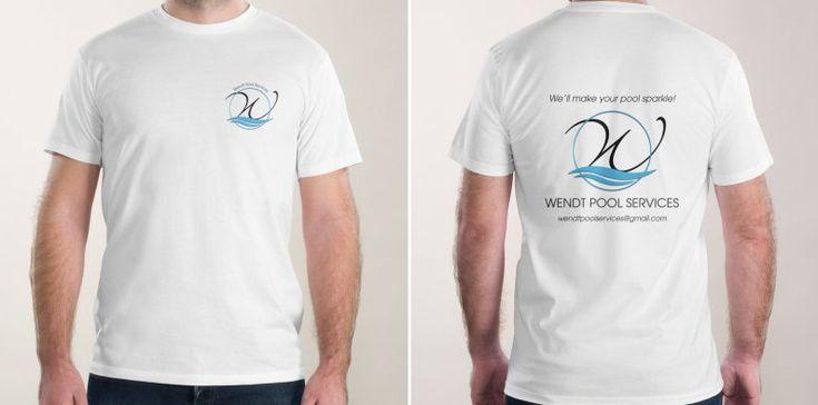Tshirt design for Wendt Pool Services.