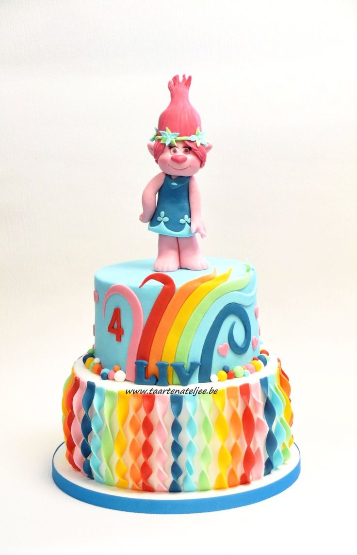 Poppy , Trolls cake