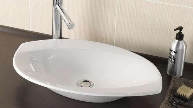 Vasque feuille Lapeyre