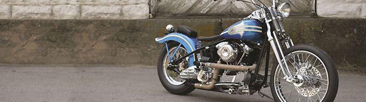 Vintage Harley-Davidson Motorcycle Parts for Harley Knucklehead, Harley Panhead and Harley Shovelhead
