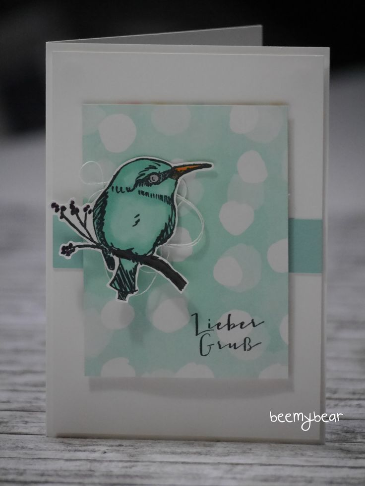 stampinwithbeemybear.blogspot.com; Stampin'Up! Sale-A-Bration; Ein grosses Glück; a happy thing