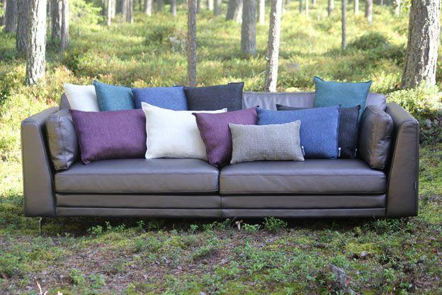 Pillows by Pisa Design, Pisa Designin tyynyjä.