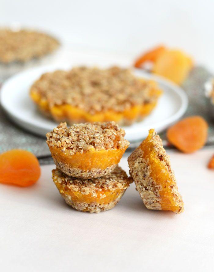 No-Bake Apricot Tarts