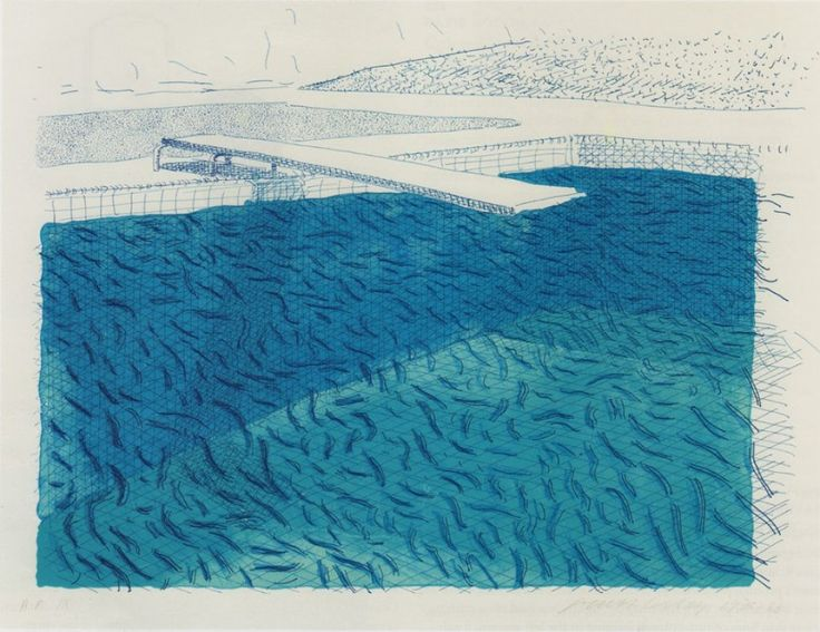 David_Hockney Swimming_Pool_Lithograph