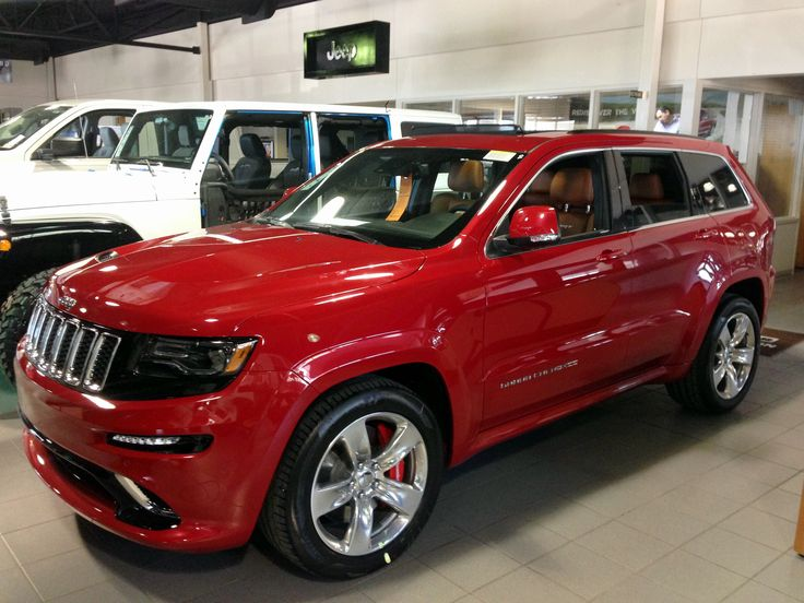 2014 dodge durango srt8 red