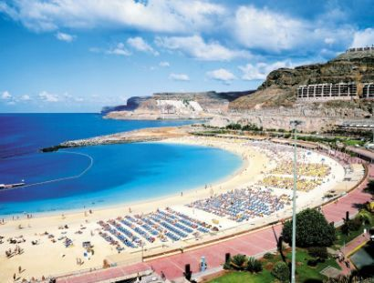 Amadores, Puerto Rico Gran Canaria. Mine and Mattys favourite for a cheap holiday that's always sunny, and always have an amazing time!