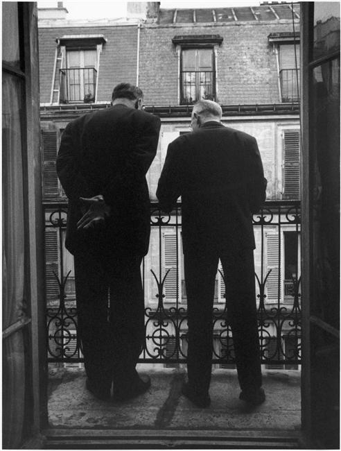 Boileau et Narcejac, Paris (Denise Colomb, vers 1955)