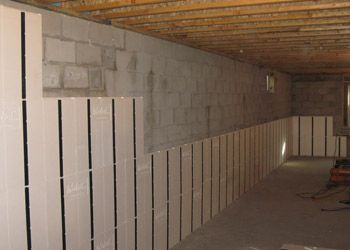 119 best insofast basements images on pinterest basement for Mold resistant insulation