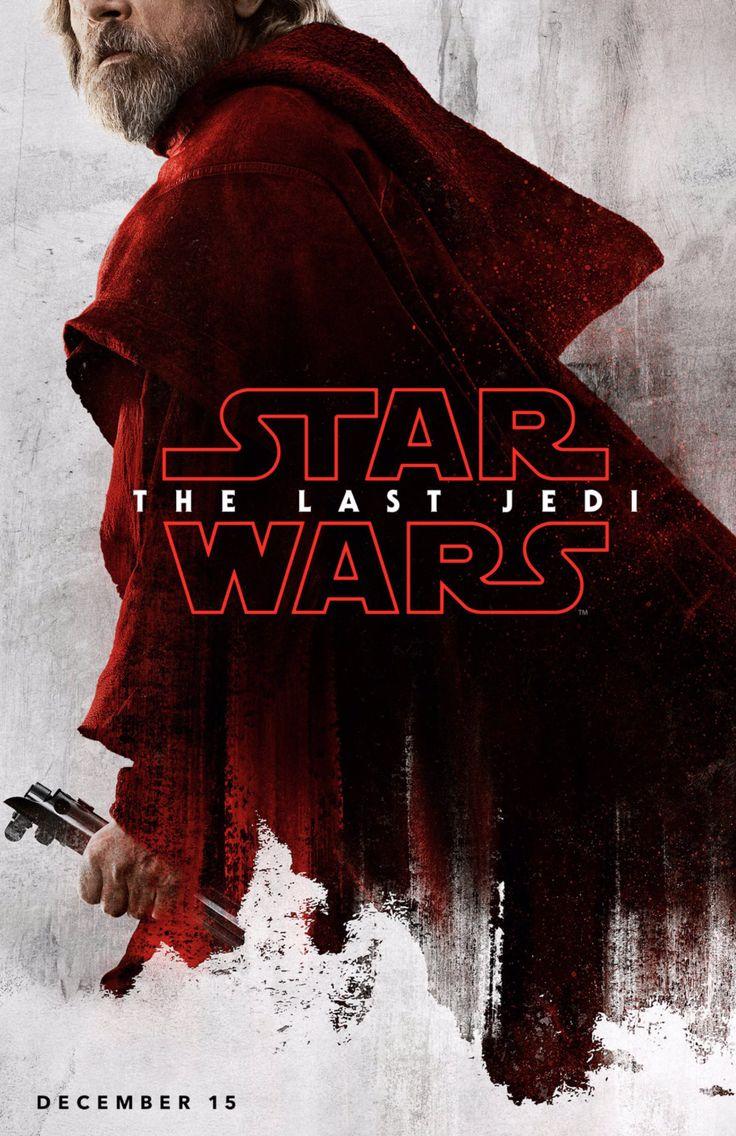 Luke Skywalker // The Last Jedi Poster