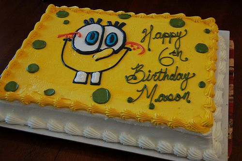 images of spongebob cakes - Google Search