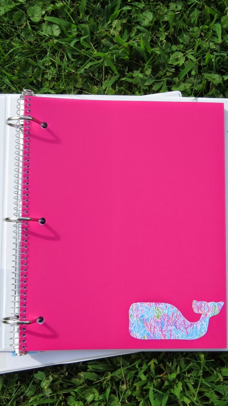 DIY Preppy Binder Covers (Back to school series)