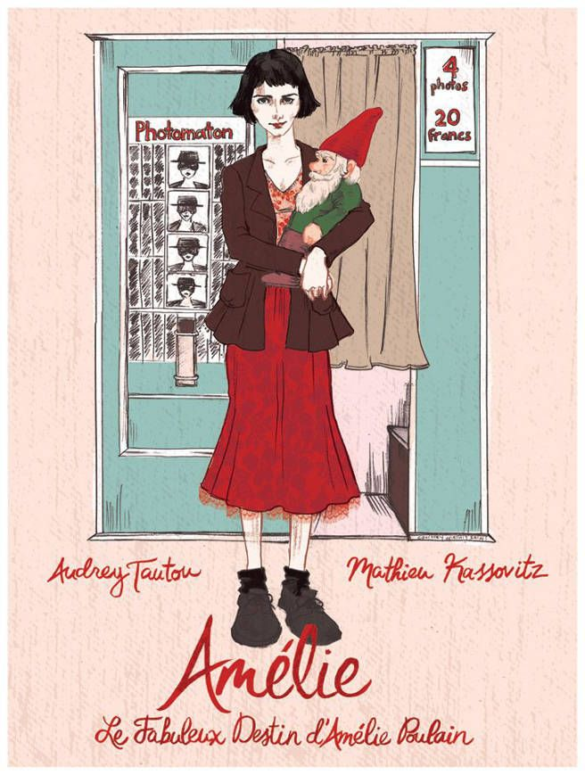 Amelie movie poster!!!!!!!!!!