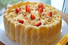 Клубничный тирамису (пошаговый рецепт с фото) — Кулинарный портал Печенюка